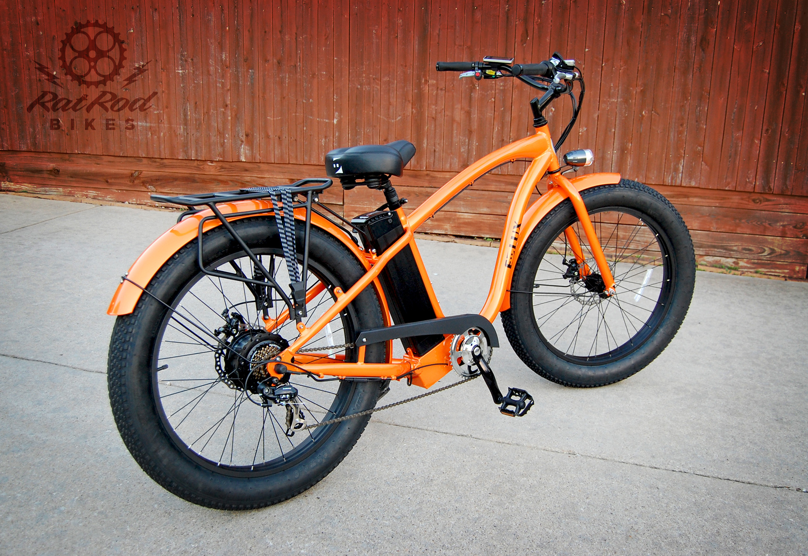 E-LUX FAT TIRE ELECTRIC CRUISER | Rat Rod Bikes