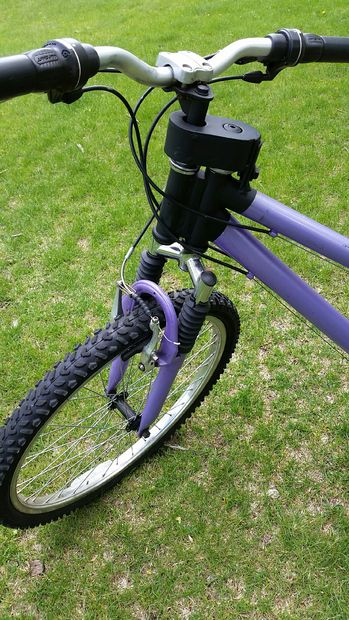 how to make a reverse steering bike