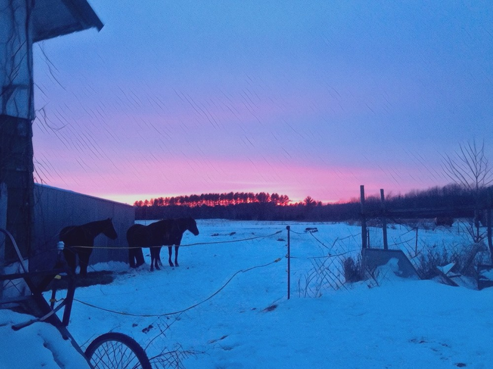 Sunset after cold spell.JPG